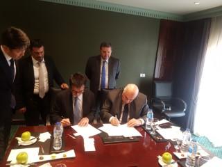 توقيع مذكرة تفاهم لإنشاء مصنع للغزل والنسيج في كفر الشيخ